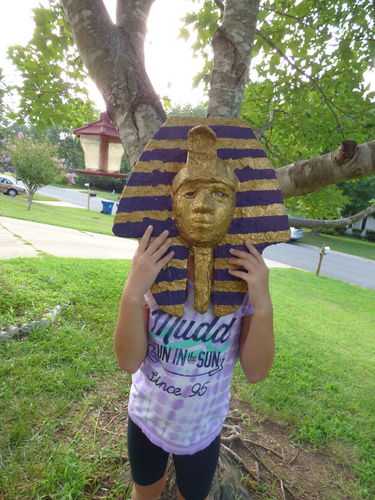 Ancient Egypt students in action